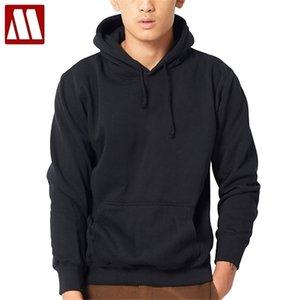MyDBSH New Brand Hoodie Streetwear 후드가있는 저지 Hoody 남성 후드 티와 스웨터 힙합 블랙 그레이 플러스 크기 XS-XXXXL 201127