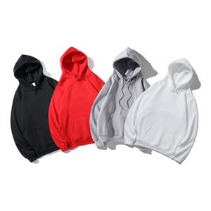 Hommes Sweats à capuche Sweatshirts Lettre Broderie Pullover Hommes Femmes Hip Hop Sweatshirts Vente chaude Sweats à capuche Lâche 5 Styles Vêtements occasionnels