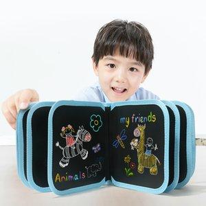 Children's painting drawing boards, educational toys, color creative books, graffiti knutselen, gift kindergarten