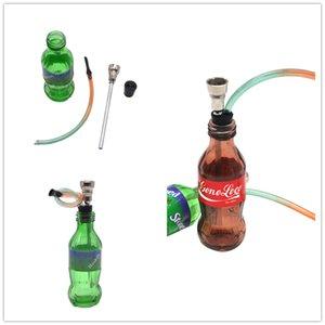 Nuove bottiglie di sprite di coca cola creative esclusive rimovibili facili per la pulizia del tubo dell'olio del bruciatore dell'olio del bruciatore del tabacco