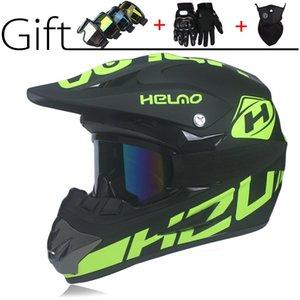 Motorcycle Helmets Off-road Helmet Mountain Bike ATV Downhill DOT 3 Free Gift Suitable For Kid Casco Moto