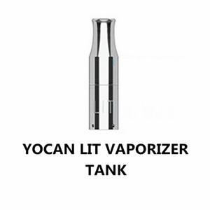 Orijinal Yocan Lit Buharlaştırıcı Tankı Bitkisel Kuru Vape Kalem Seramik Odası Yocan Bitkisel Önceden Ön ısıtma E Çiğ Atomizer DHL Ücretsiz