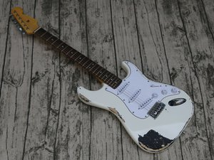 Aged Relic Quality Eletric Guitar, SSS Pickups