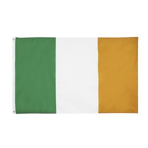 Ireland Flag 3x5 FT Irish National Flags Banner 90*150cm Polyester with Brass Grommets Indoor Home Garden Outdoor Decor