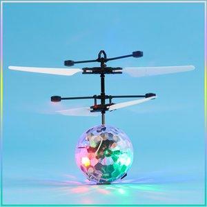 Flying Ball RC Симулятор дистанционного управления воздушными судами игрушки для детей детей Aviones Control Remoto светящийся ребенок полета