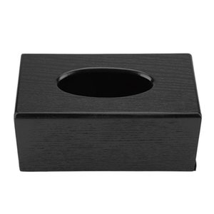 Hot XD-Tissue Box Wood Rectangular Tissue Box Natural Elegance Wood Tissue for Living Room Bedroom Kitchen GWD5133