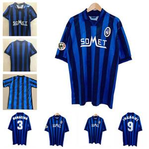 1991 # 1996 # 1997 Classic Retro Atalanta BC Soccer Jersey Inzaghi Bonacina D.Morfeo 91 96/97 Camisa retro de fútbol
