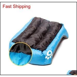 (s-3xl) Large Pet Cat Dog Bed 8colors Warm Cozy Dog House Soft Fleece Nest Dog Baskets House Mat Autumn Winter Waterpro jlljSS mxyard