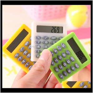Cute Mini Student Exam Learning Essential Small Calculator Portable Color Multifunctional Small Square 8 Digit Calculator 6Dqrx Kwin4