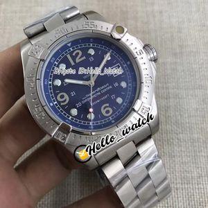 Новый 44 мм Steelfish A17312C9.BD91.179A Синий циферблат автоматические мужские часы из нержавеющей стали браслет ворота часов HWBR Hello_Watch 11 цвет