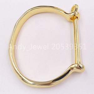 Authentic Bracelet Shackled Friendship Bracelets UNO de 50 Plated Jewelry Fits European Style Gift PUL1245ORO0000M