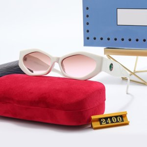 2021 مصمم فاخر النظارات النساء الرجال النظارات الشمسية المصممين الفضي نظارات الأزياء للرجال النسائية العلامة التجارية نظارات