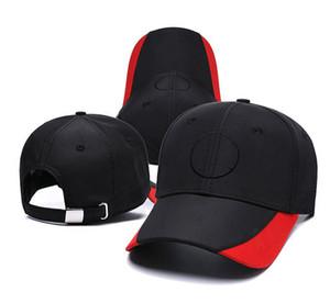 Nouvelle mode respirante chapeau de course F1 Casquettes de baseball brodée pour hommes et femmes Formula voiture Version ventilatrice moto Visor Sun Visor