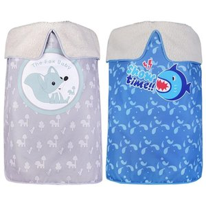 Stroller Parts & Accessories Born Cover Blanket Warm Windproof Rainproof Knitted Envelopes Swaddle Sleeping Bag Winter Blankets