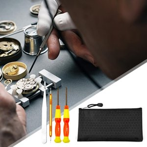 Repair Tools & Kits 9pcs Watchmaker Watch Tool Kit Back Cover Open Removal Maintenance Professional Accessories
