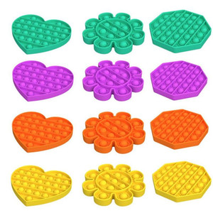 Pop It Fidget Toy Sensory Push Bubble Fingers Sensory Toy Decompression Toy Autism Special Needs Anxiety Stress Reliever Kids Adults DHL