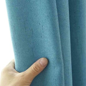 Modern blackout curtains for window DIY Design Style 15 colors Curtain for Living Room For Kitchen Bedroom Cortains Drapes 210903