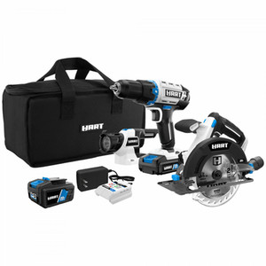 3 Tool 20 Volt Cordless Combo Kit With And 16