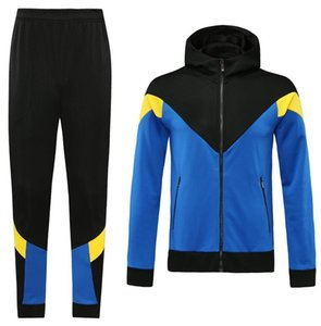 Custom classic style Hooded tracksuit jacket Maillot De Foot Survetement full Zipper Hooded tracksuit s-xl 0055
