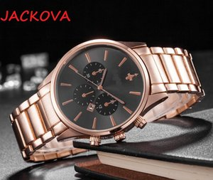 mens automatic top brand watches 43mm full stainless steel wristwatches sapphire luminous watch montre de luxe