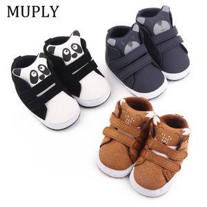Walking shoes 2021 Baby Boy Fashion Sneakers Print Cartoon Pattern Soft Sun Shoes inside For 0 18M 210827
