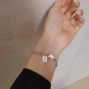 MiUoxion retrò fortunato piselli braccialetto temperamento semplice personalità gioielli per le donne presentano il regalo di fascino Namour Tutte le stagioni
