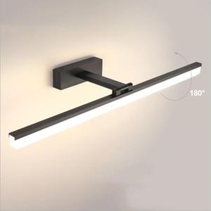 أدى ضوء الجدار للحمام الغرور مرآة مصباح الألومنيوم الاكريليك 40 سنتيمتر للصورة الشمعدان المنزل ماكياج للماء 12W