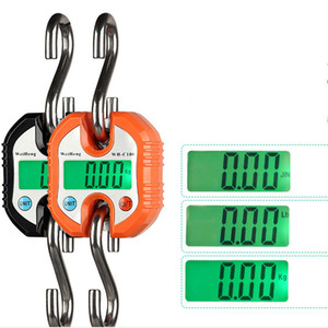 Electronic crane scale 150kg portable household small mini spring express portable handheld hook hanging weighing portable scale