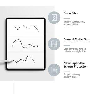 Paper Like Screen Protector Matte Film For Apple iPad 9.7 Air 4 10.5 2020 Pro 11 10.2 8th Gen Mini 12345 Film PET