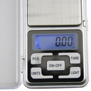 2021 Electronic LCD Display Mini Digital Scales 100 200 300 500g X0.01g Pocket Jewelry Weight Scales High Accuracy Weigh Balance
