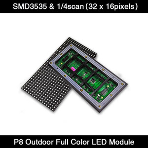 40pcs lot Scrolling LED Sign P8 LED Display Module 256*128mm Full Color Panel, Outdoor RGB Module