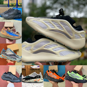 2021 New High Quality 700 Kanye West Running Shoes Vanta 700 V3 Alvah Azael 3M Reflective 380 Mist Alien Luxury Mens Designer Sneakers Sd124