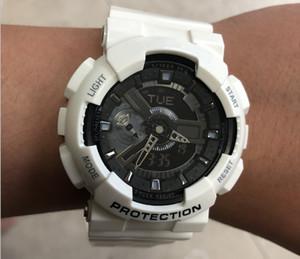 2021 Herrenuhr Schock GW-A1100 G Armbanduhr Resist Schutz Sport Neue digitale LED Uhren Licht Fashion Herren Kleid Uhren Original