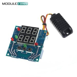 Integrated Circuits AC DC 12V Intelligent Temperature Humidity Controller Relay Thermostat Capacitive And Board DIY