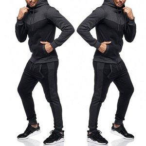 Männer Sport Sets Packung Sweatshirt Top Hosen Sets Sportanzug Trainingsanzug Harajuku Sportanzug Laufen Sportswear Frühling Herbst
