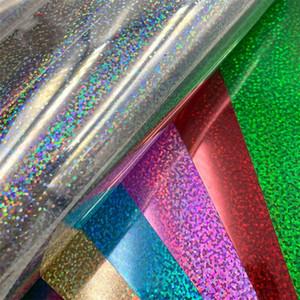 25*30cm Glitter Heat Transfer Vinyl Sheet Glitter HTV Iron On Vinyl for DIY Cricut T Shirt 8 Vibrant Colors Heat Press HTV Vinyl 263 S2