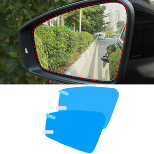 For Volkswagen Touareg 2018-2020 Car Anti Fog Rearview Mirror Film Clear Sticker Window Protective Waterproof Film