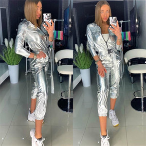 Womens designer tracksuit Tracksuit luxury Sleeve Jacket Pants Tow Pieces Set womens designers clothes Solid Color Hoodie 2 Piece Set Out