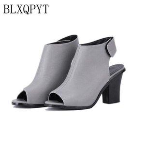 BLXQPYT Vendita Sandalias Big Size 33-43 Scarpe Sandali donna Piattaforma Sandali Feminino Summer Style High Hells Shoes 1068-2