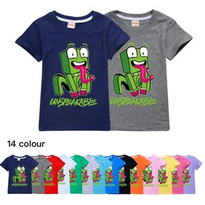 New Big Kids Clothes Girls 8 To 12 Summer T Shirt Cotton Cute Frog Unspeakable Teenage Boys Black Tops Toddler Children T-shirts 210302