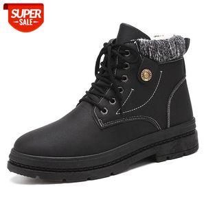 Botas de los hombres botas de moda nieve al aire libre casual barato amante de la madera de los zapatos de invierno otoño 2020 nuevo # wk92