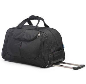 Duffel Bags Travel Trolley Bag Wheels Waterproof Carry On Hand Luggage Oxford Cabin Wheel Wheeled Rolling