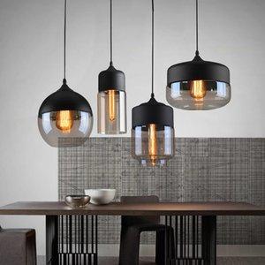 Modern Glass Pendant Light Hanging Lamp Kitchen Light Fixture Dining Hanglamp Living Room pendant lamp R197