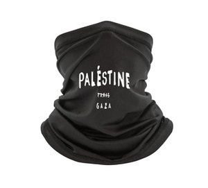 Шляпы, шарфы перчатки наборы шарфа 2021 летние печать Палестин Париж Газа смешные моды мужские шарвы хип-хоп спортивная одежда Джерси мужская Homme Top