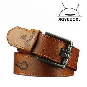 JXQBSYDK Casual Moda Pin Hebilla Hebilla Para Hombres Cinturones De Cuero De Alta Calidad