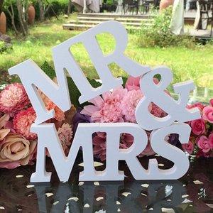 Sig. Sig. Sig. Segni di nozze per Sweetheart Love Wedding Sign Table Numeri di tavola Decorazioni Matrimonio Accessori