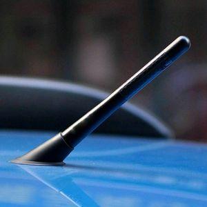 4,7 динчес универсальный автомобиль Короткие антенны Аксессуары Углеродное волокно радио FM Antena