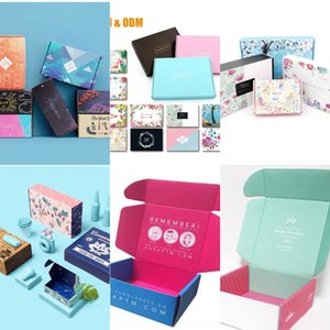 stom Design Makeup Paperboard Subscription Box Personal Care Beauty Make Up Packaging Shipping Deluxe Eco Small Cardboard Postal 1K4V0