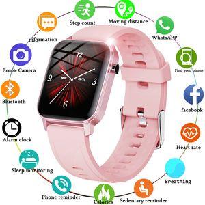 Women Smart Watches IP68 Waterproof 1.4 Full Touch Screen Sport Wristband Woman Heart Rate Fitness Tracker Men Watch