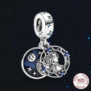 Vsilver 925 Jcharm Sparkling Jewelry Sterling Star Pendant Wars Princess Cz Fit Original Pan Bracelet for Women Giftkf
